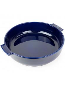 Kepimo / serviravimo indas APPOLIA apvalus Ø 30 cm 3,8 L, keramika, mėlynas, PEUGEOT (Prancūzija)