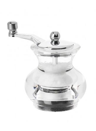 Malūnėlis druskai BOOGIE, skaidrus, MARLUX® plieninės girnos, DE BUYER (Prancūzija)