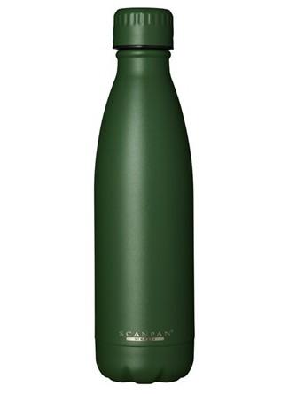 Termobutelis / gertuvė TO GO 500 ml. žalias (Forest green), SCANPAN (Danija)