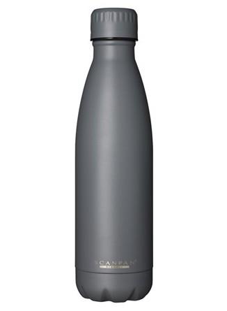 Termobutelis / gertuvė TO GO 500 ml. pilkas (Neutral grey), SCANPAN (Danija)