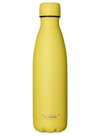 Termobutelis / gertuvė TO GO 500 ml. geltonas (Primrose yellow), SCANPAN (Danija)