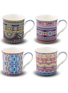 Puodelis kavai - arbatai 330 ml, NAVA, dekoruotas porcelianas, ORION (Čekija)