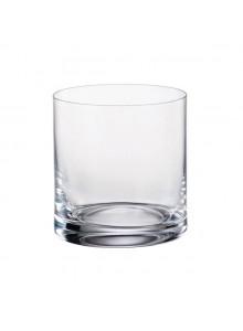 Stiklinės / taurės žemos LARUS 6 vnt, 410 ml, CRYSTALITE BOHEMIJA (Čekija)