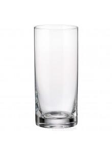 Stiklinės / taurės aukštos LARUS 6 vnt, 350 ml, CRYSTALITE BOHEMIJA (Čekija)