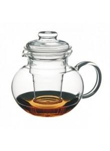 Arbatinukas su stikliniu filtru