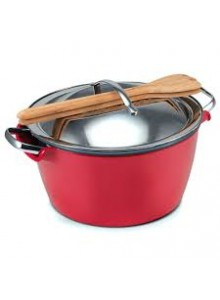 Puodas Hot Pot  3,0 ltr. raudonas