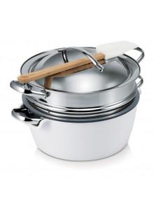 Puodas Hot Pot  3,0 ltr. baltas