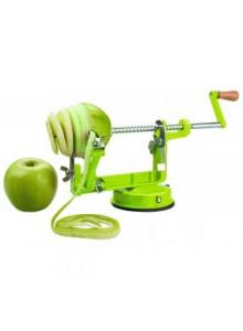 Įrankis obuoliams lupti ir pjaustyti
