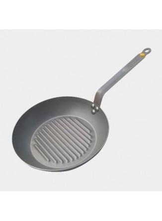 Keptuvė grill  Ø 32 Mineral B Element, De Buyer