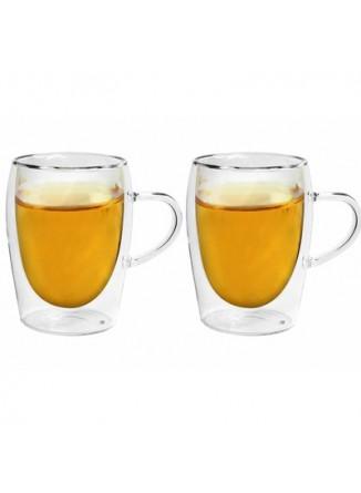 Termo puodeliai kavai - arbatai 300 ml. 2 vnt, BORAL