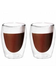 Termo stiklinės - puodeliai kapučino kavai 300 ml. 2 vnt. BORAL