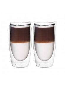 Termosinės stiklinės 2 vnt. Latte kavai 350 ml, BORAL (Vokietija)