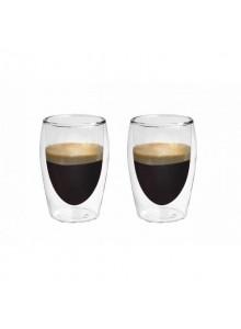 Termo stiklinės espresso kavai 80 ml. 2 vnt. BORAL