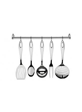 Virtuvės įrankių rinkinys 6 vnt., pakabinimu Mediterraneo, GIANNINI