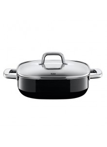 Stewing pan 26x26 cm., Quadro Black, SILIT