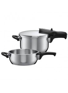 Pressure cooker DUO 4.5 L.+3 L., T-plus, Steel, SILIT