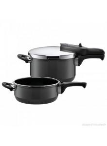 Pressure cooker DUO 4.5 L.+3 L., econtrol, SILIT