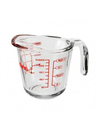 Matavimo indas 500 ml., stiklas, ANCHOR HOCKING (JAV)