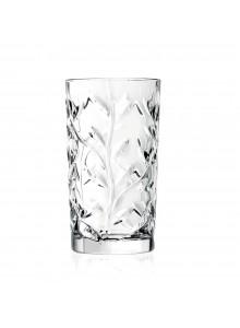 Stiklinės / taurės aukštos 6 vnt, 360 ml, LAURUS, RCR (Italija)