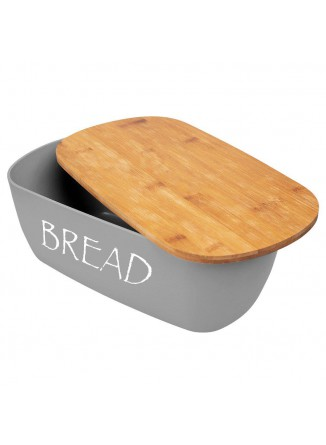 Duoninė su bambukine lentele, pilka spalva, ORION (Čekija)