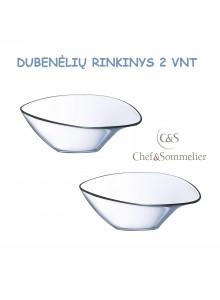 Dubenėlis serviravimui 2 vnt, stiklas, SELECTION by Chef & Sommelier, ARC (Prancūzija)