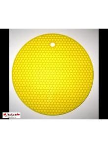 Padėkliukas silikoninis geltonas