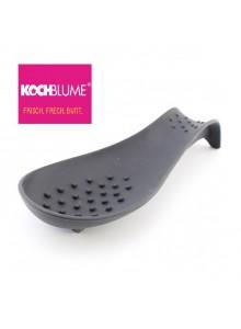 Padėkliukas virtuvės įrankiams, silikoninis, juodas, KOCHBLUME® (Vokietija)