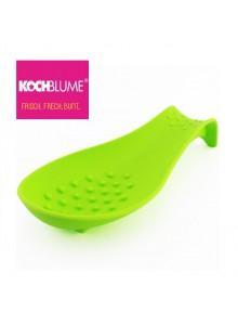 Padėkliukas virtuvės įrankiams, silikoninis, žalias, KOCHBLUME® (Vokietija)
