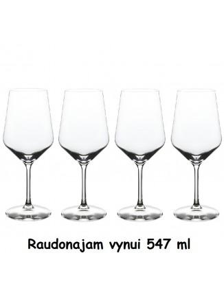 Taurės raudonajam vynui 4 vnt, 547 ml, FONTIGNAC, STAUB Group (Prancūzija)