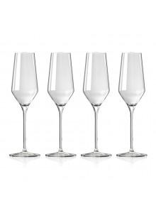 Taurės šampanui / putojančiam vynui 4 vnt, 252 ml, FONTIGNAC, STAUB Group (Prancūzija)