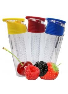 Gertuvė vandeniui su filtru vaisiams 700 ml, ENRICO (Olandija)