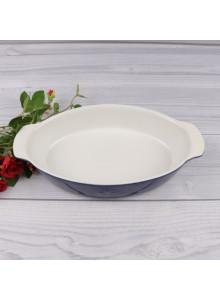 Kepimo indas ovalus 26 cm, keramika, FONTIGNAC, STAUB Group (Prancūzija)