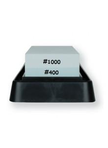 Galandimo akmuo 400/1000, dvipusis, su vonele, WHETSTONE, KAI (Japonija)