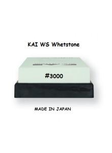 Galandimo akmuo 3000, vienpusis, smulkiagrūdis, WHETSTONE, KAI (Japonija)