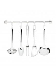 Virtuvės įrankių 5 vnt. rinkinys su pakabinimo sistema FACTOTUM, GIANNINI  (Italija)