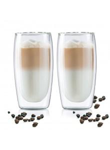 Termo stiklinės 2 vnt. Latte kavai 350 ml, MPL (Lenkija)