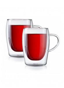 Termosiniai puodeliai 2 vnt. arbatai - kavai 300 ml, MPL (Lenkija)