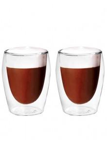 Termosinės stiklinės 2 vnt. kapučino kavai 300 ml, MPL (Lenkija)