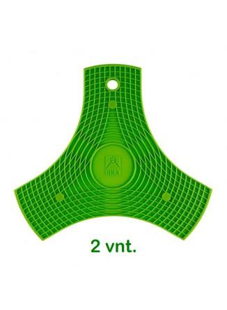 Padėkliukai 2 vnt. su magnetais BRA SAFE, silikonas, žalias, BRA® (Ispanija)