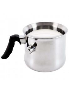 Puodelis pienui šildyti 1,3 L, dvisienis plieninis, ORION (Čekija)