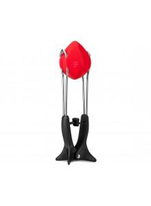 Spaustuvas - sietelis arbatžolėms TEAFU, raudonas, DREAMFARM (Australija)