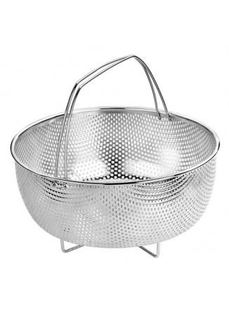 Garų įdėklas / krepšelis Ø 21 cm, 18/10 nerūdijantis plienas, FACILE, BRA® (Ispanija)