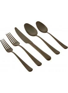 Stalo įrankių rinkinys 5 vnt., juodas, MONTANA, HERDMAR® (Portugalija)