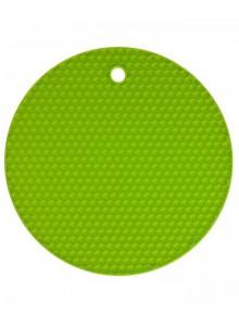 Padėkliukas silikoninis Ø 18 cm, apvalus, žalias, KOCHBLUME® (Vokietija)