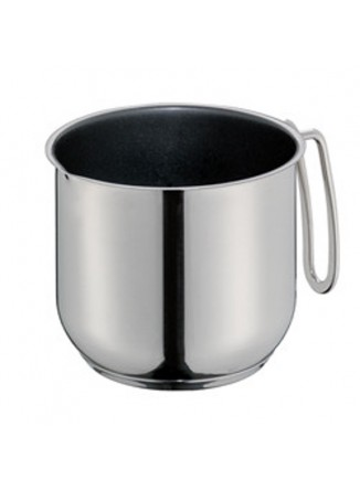 Puodelis pienui šildyti 1,5 L, COOK, plieninis su nesvylančia danga, KUCHENPROFI (Vokietija)