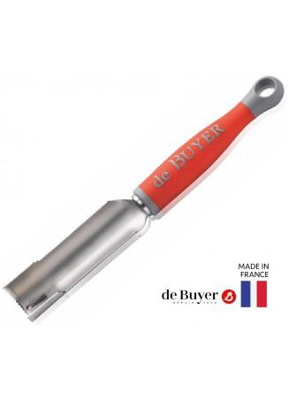 Įrankis šerdžių išėmimui Ø30x90 mm, raudonas, De BUYER (Prancūzija)