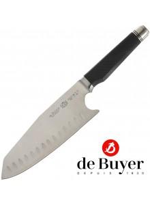 Azijos virėjo peilis 17 cm, su reguliuojama rankena, FK2, De BUYER (Prancūzija)