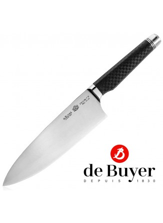 Prancūziškas virėjo peilis 21 cm, su reguliuojama rankena, FK2, De BUYER (Prancūzija)