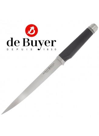 Peilis filiavimui lankstus 18 cm, su reguliuojama rankena, FK2, De BUYER (Prancūzija)