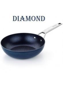 Keptuvė WOK Ø 28 cm, indukcinė, DIAMOND, MONIX® (Ispanija)